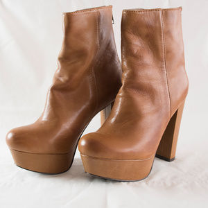 """Steve Madden """"Desirred"""" ankle boots - brown"""